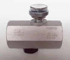 Regulador de fluxo (modelo: 1/4X1/4 GR-1/4)