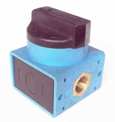 Válvula pneumática (modelo: HE-1/2-S-B)