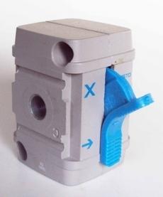 Válvula de fechamento (modelo: HEA-M1-G1/8)