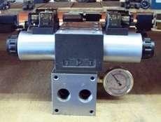 Bloco hidráulico com válvulas (modelo: 4DWG10G)