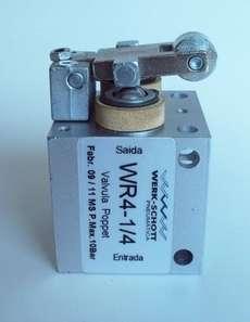 Válvula pneumática (modelo: WR4-1/4)