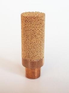 Silenciador (modelo: 1/8 bronze)