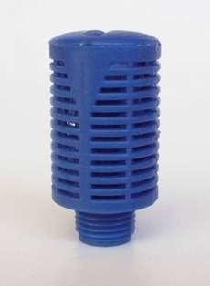 Silenciador (modelo: 1/8, em plástico)