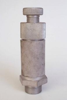 Silenciador (modelo: 3/8 c/regulagem)