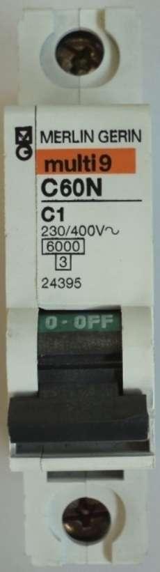 Disjuntor (modelo: multi9C60NC1)