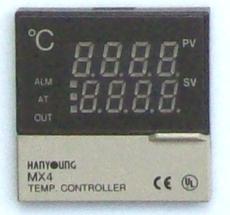 Controlador de temperatura (modelo: MX4digital)