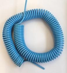 Tubo em poliuretano espiralado (modelo: PAS6I-8E-10)