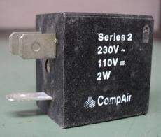 Bobina (modelo: Series 2) para válvula pneumática
