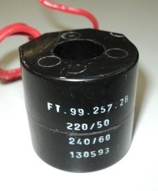 Bobina (modelo: FT992572B) para válvula pneumática