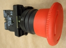 Botão cogumelo (modelo: LAY80PS545)