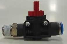 Válvula pneumática (modelo: HE-2-1/4-QS-8)