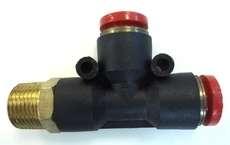 ConexãoT rosca lateral (modelo: 3/8X10mm)