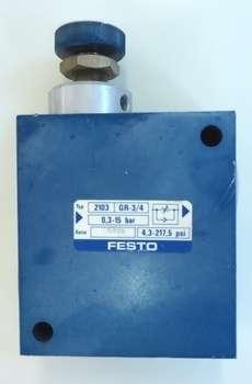Regulador de fluxo (modelo: 3/4X3/4 GR-3/4)