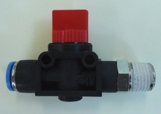 Válvula de fechamento (modelo: HE-3-1/4-QS-8)