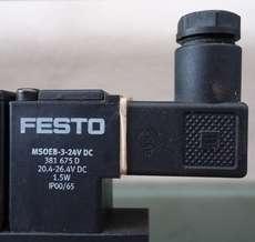 Bobina (modelo: MSOEB324VDC) para válvula pneumática