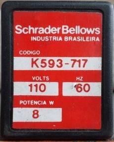 Bobina (modelo: K593717) para válvula pneumática