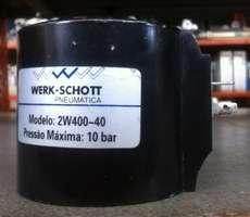 Bobina (modelo: 2W400-40) para válvula pneumática