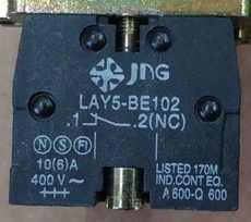 Bloco p/ botão (modelo: LAY5BE10212NC)