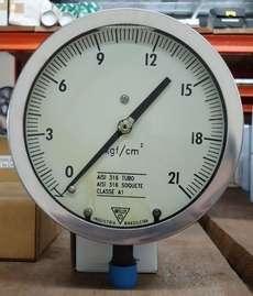 Manometro (escala: 21kgf/cm2)
