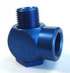 ConexãoL (modelo: 1/2, em alumínio azul)