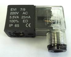 Bobina (modelo: 220VAC 5.5VA importada) para válvula pneumática