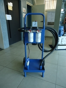 Unidade para filtragem de óleo