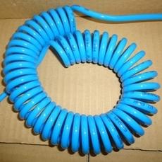 Tubo espiralado em poliuretano (modelo: 6SHM 5metros)