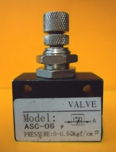 Regulador de fluxo (modelo: 1/8X1/8 ASC-06)