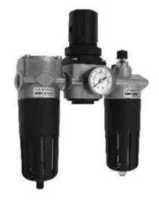 Conjunto lubrifil (modelo: Série 322 médio F+R +L)