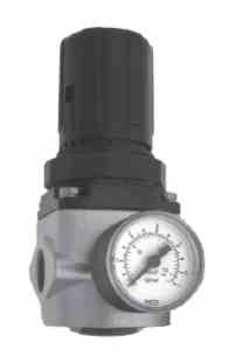 Regulador com manometro (modelo: Série 322) médio