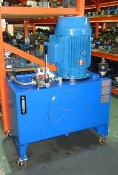 Unidade hidráulica para testar cilindros