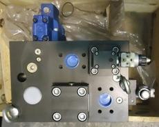 Bloco de injeção (modelo: 450600 14W21-7362-P4109056-1)