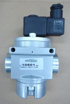 Válvula pneumática (modelo: 10801)