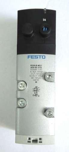 Válvula pneumática (modelo: VSVA-B-M52-AZD-D1-1T1L)