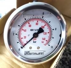 Manometro (escala: 150PSI 10BAR)