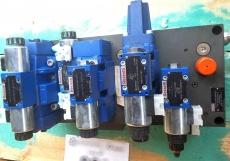 Bloco com válvulas hidráulicas (bloco: 12W487362P40493333)