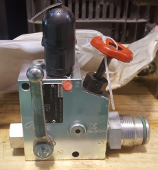 Válvula hidráulica (modelo: ABZSS10M3X140ES12V)
