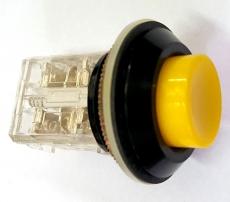 Botão pulsador amarelo (modelo: 22mm amarelo)