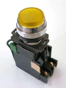 Sinaleiro (modelo: 22mm amarelo)