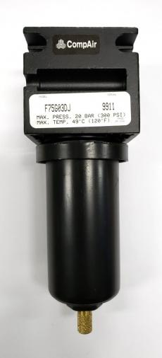 Filtro (modelo: F75G03DJ rosca3/8)