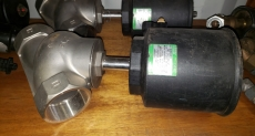 Válvula pneumática (modelo: PORT 2)