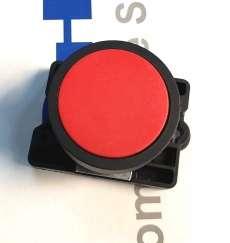 Botão pulsador vermelho