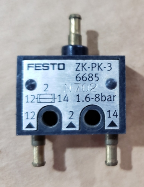 marca: FESTO <br/>modelo: ZKPK3 6685
