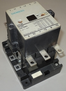 Contator (modelo: 3TF46)