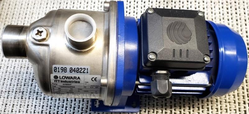 marca: LOWARA <br/>modelo: 2HMS3T código: 102630320XAA <br/>20-70 l/min motor trifásico <br/>estado: nova