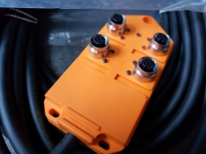 Distribuidor com cabo (modelo: ASI 11146 ASBV4/LED5-256/15M)