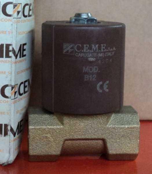 marca: CEME (Fluid Control Components) <br/>modelo: 9314VV50S C67 rosca1/2 220V/60 <br/>estado: nunca foi utilizada, na caixa