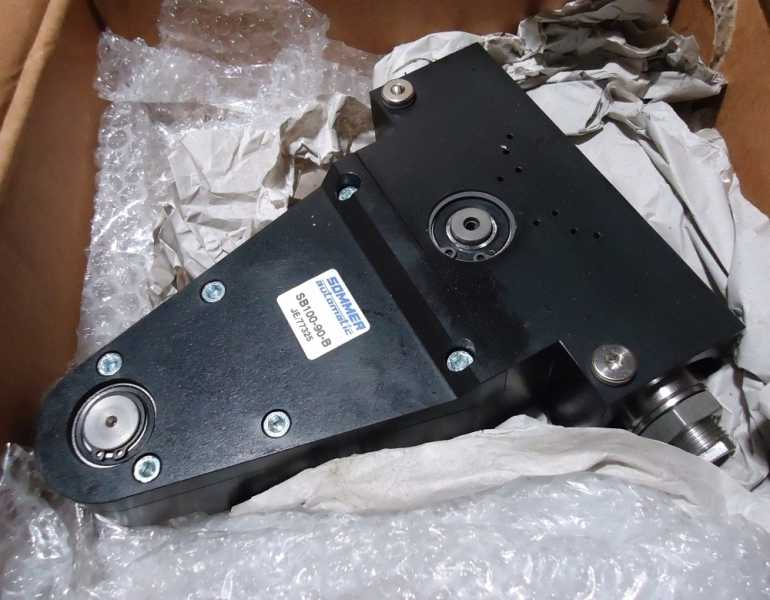 marca: Sommer Automatic <br/>modelo: SB100-90-B <br/>estado: novo