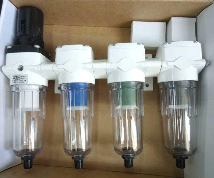 Conjunto odontológico médio com manometro (modelo: CJG1675)